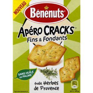 Benenuts Apero cracks fins & fondants herbes provences - Le paquet de 85g
