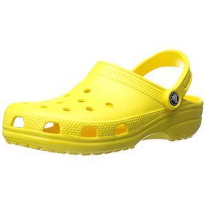 Crocs Classic, Sabots Mixte Adulte, Jaune (Lemon), 43-44 EU