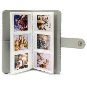 Fujifilm Instax Mini 9 Striped Album blanc à rayures 108 photos