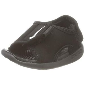 Nike Sunray Adjust 5 V2 (TD), Sandale de Sport bébé garçon, Black/White, 23.5 EU