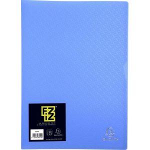 Exacompta 85393E - Protège-documents FIZZ 60 vues, polypro, bleu