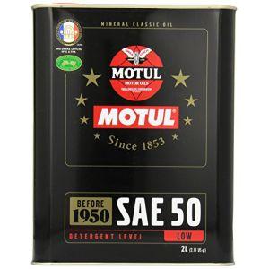 Motul Huile moteur Classic Oil SAE 50 Essence 2 L
