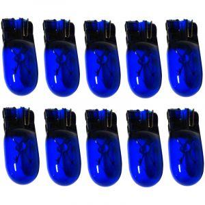 Aerzetix Lot de 10 Ampoules à Effet Xénon, T10 W5W 12V