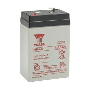 Yuasa Batterie plomb étanche NP4-6 6V 4ah