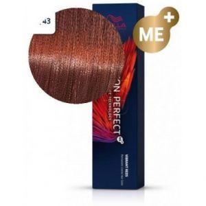Wella Koleston Perfect ME+ Rouge Vibrant 77/43 blond cuivré doré intense 60 ML