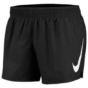 Nike W NK Swoosh Run Short Sport Femme, Black/White, FR (Taille Fabricant : XS)