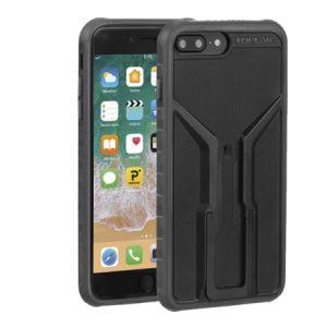 Topeak RideCase pour iPhone 6+/6S+/7+/8+ Coque avec support, black/grey Accessoires smartphone