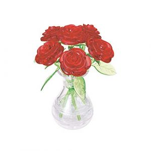 Crystal puzzle HCM Kinzel 3D - Roses Rouges