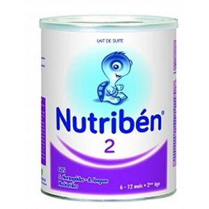Nutribén Lait 2ème âge 800g - de 6 à 12 mois