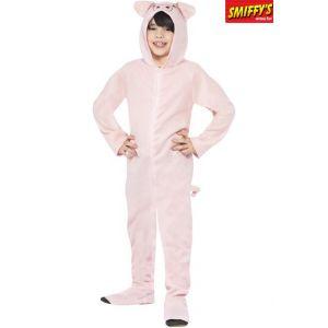Smiffy's Combinaison de cochon rose pour enfant