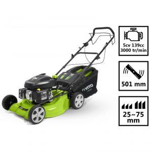 vito garden tondeuse thermique traction 5 cv moteur ohv coupe 50 cm comparer avec. Black Bedroom Furniture Sets. Home Design Ideas