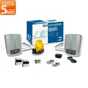 Came 001U1803 - Kit complet Fast40 24V encodeur portail 2 battants 2 émetteurs 868 MHz max 2.3 m