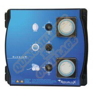 Aqualux Coffret de filtration + projecteur 300W sans disjoncteur