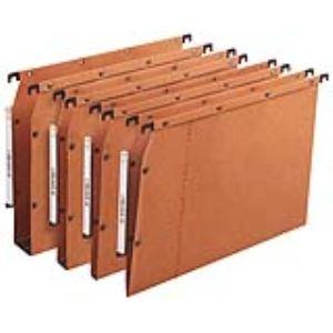L'Oblique AZ Boîte de 25 dossiers suspendus pour armoire AZV  (fond : 30 mm)
