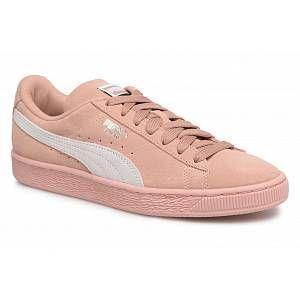 Puma Suede Classic Wn's, Sneakers Basses Femme, Beige (Peach Beige White), 42 EU