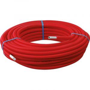 Toolstation 100m Tube Multicouche Ø16x2,0 Prégainé Rouge SOMATHERM