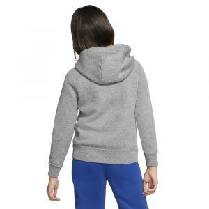 Nike Sweatà capuche à zip intégral Sportswear pour Fille - Gris - Taille L - Female