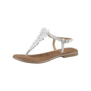 Tamaris : sandales à brides >Minu« Blanc
