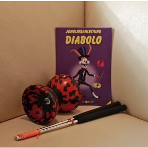 Diabolo Harlekin 2 couleurs
