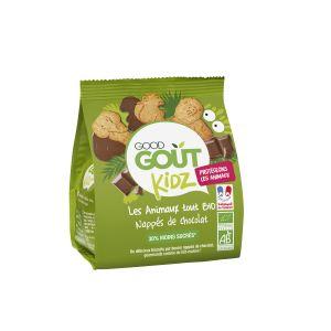 Good Goût Kids Biscuits Animaux Nappés Chocolat Dès 3 Ans Bio 120g