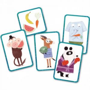 Djeco Jeu de cartes Rapido Fruit (52 cartes)