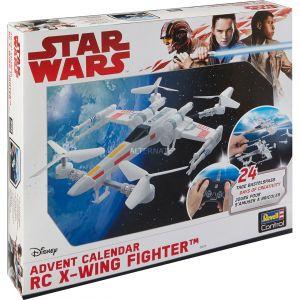 Revell Calendrier de l'avent quadricoptère Control Star Wars X-Wing Fighter