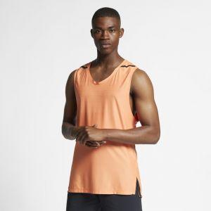 Nike Haut de training sans manches Dri-FIT Tech Pack pour Homme - Orange - Couleur Orange - Taille XL