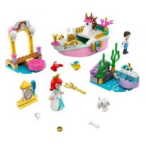 Lego Disney Princess 43191 Le bateau de mariage d'Ariel