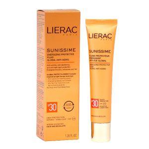 Lierac Sunissime Fluide protecteur énergisant anti-âge global SPF30