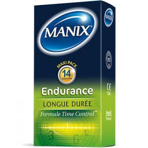 Manix Préservatif Endurance - boîte de 14 préservatifs