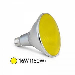 Vision-El Ampoule LED 16W (150W) E27 PAR38 IP65 Couleur Jaune