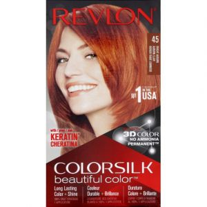 Revlon Colorsilk Beautiful Color Hair Color - Bright Auburn