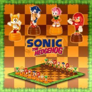 United Labels Jeu d'échec Sonic