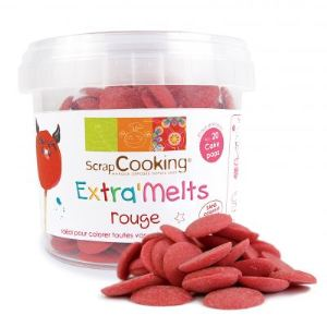 Scrapcooking Choc'Melts - Pastilles rouges