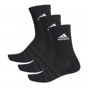 Adidas Chaussettes Pack-3-Paires - Noir/Blanc - Noir - Taille 43-45