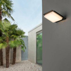 Faro Applique Murale extérieure Vertice - Gris Foncé - SMD LED 2835 9W - 70822