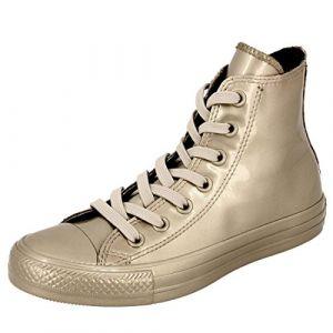 Converse Chaussures en Forme de Bottines Mixte Adulte - Or - Or, 36 EU EU