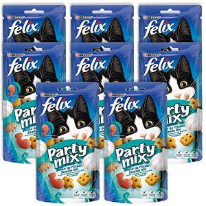 Purina Felix Party Mix  - Friandises saveur de l'océan pour chat (60g)
