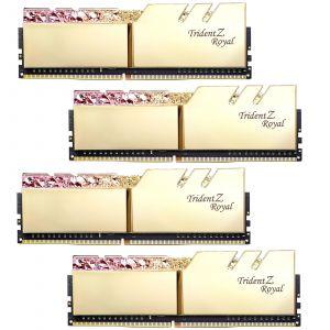 G.Skill Trident Z Royal Gold RGB 32 Go (4 x 8 Go) 3200 MHz DDR4 CL16