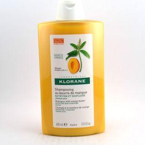 Klorane Nutrition - Shampooing au beurre de mangue - 400 ml