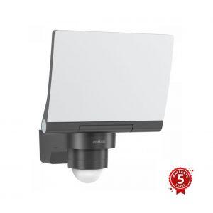 Steinel XLED PRO 240 V2 Projecteur LED avec détecteur de mouvement 240° Blanc chaud 3000 K Avec support mural d'angle Anthracite 20 W