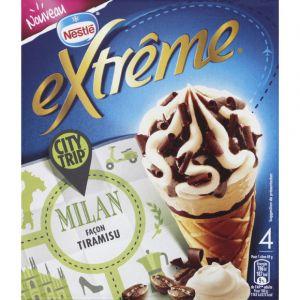 Nestlé Extrême - Cônes Milan façon tiramisu - City Trip