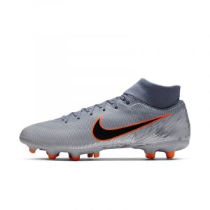 Nike Chaussure de football multi-terrains crampons Mercurial Superfly 6 Academy MG - Bleu - Taille 44 - Unisex