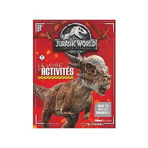 Hachette Le livre d'activités Jurassic World Fallen Kingdom