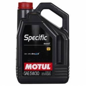 Motul Huile moteur Spécific Dexos² 5W30 Essence et Diesel 5 L