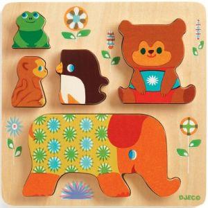 Djeco Puzzle en Bois - Woodypile