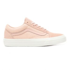 Vans Chaussures Woven Check Old Skool ((woven Check) Spanish Villa/snow White) Femme Rose, Taille 36