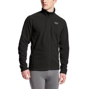 Helly Hansen Daybreaker Fleece Veste Homme Noir FR : 2XL (Taille Fabricant : 2XL)