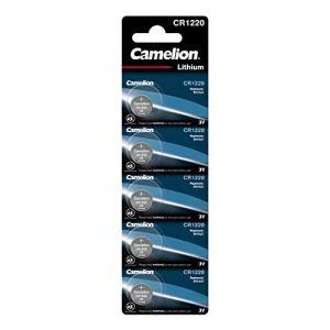 Camelion Lot de 5 piles lithium CR1220