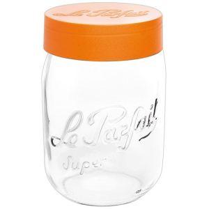Le Parfait Bocal à vis avec couvercle en plastique (1 L)